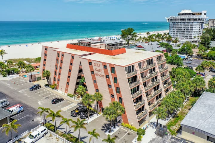 Resort Complex is Directly on St. Pete Beach