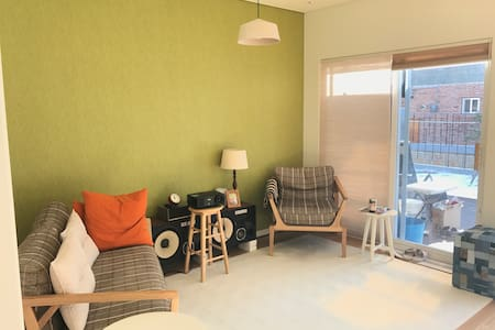 cozy and modern 2 story town house with big attic - Beonttwigi-gil, Paju-si - House