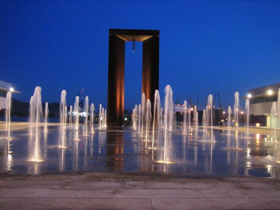 Praça da liberdade a 300 mts do estúdio