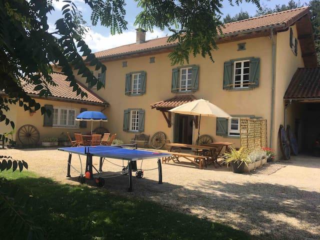 Libaros Farmhouse with pool.