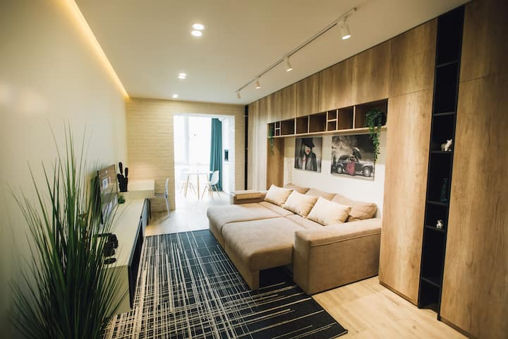 Atlant apartments-studio