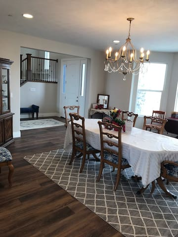 Extra large dining room, seating for up to #40