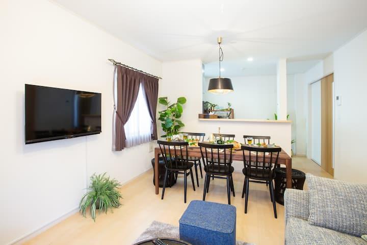 Comfortable House for Family Stay near Cape ZANPA