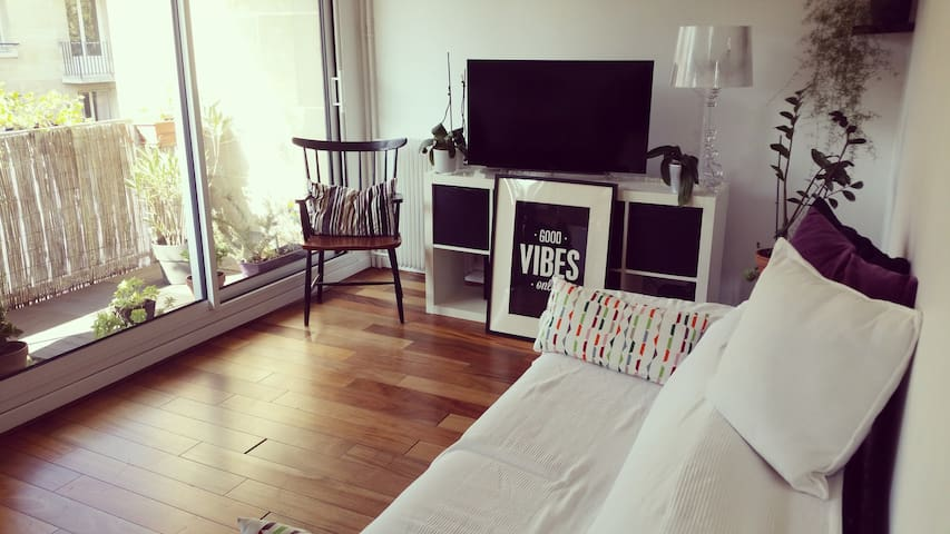 Appartement cosy avec balcon 2 pièces 40 m2