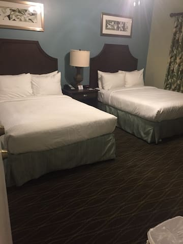 Double Bedroom $ 68 per night / per bed Entire 3 Rooms $ 175 per night with kitchen & washer/Dryer  Special Rates for Hurricane Victims