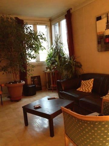 Appartement lumineux dans le 20ème - Paris - Apartment
