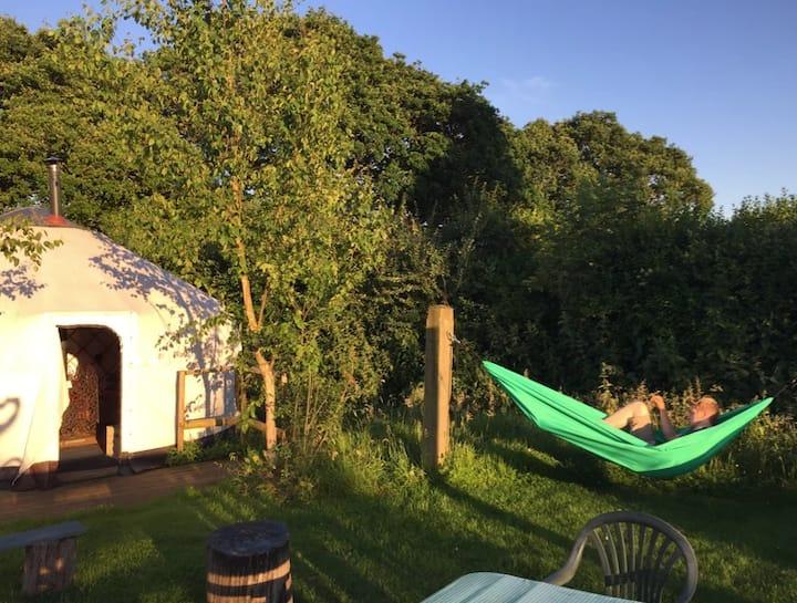 Hunger Hill Yurts - Meadow Yurt No.3