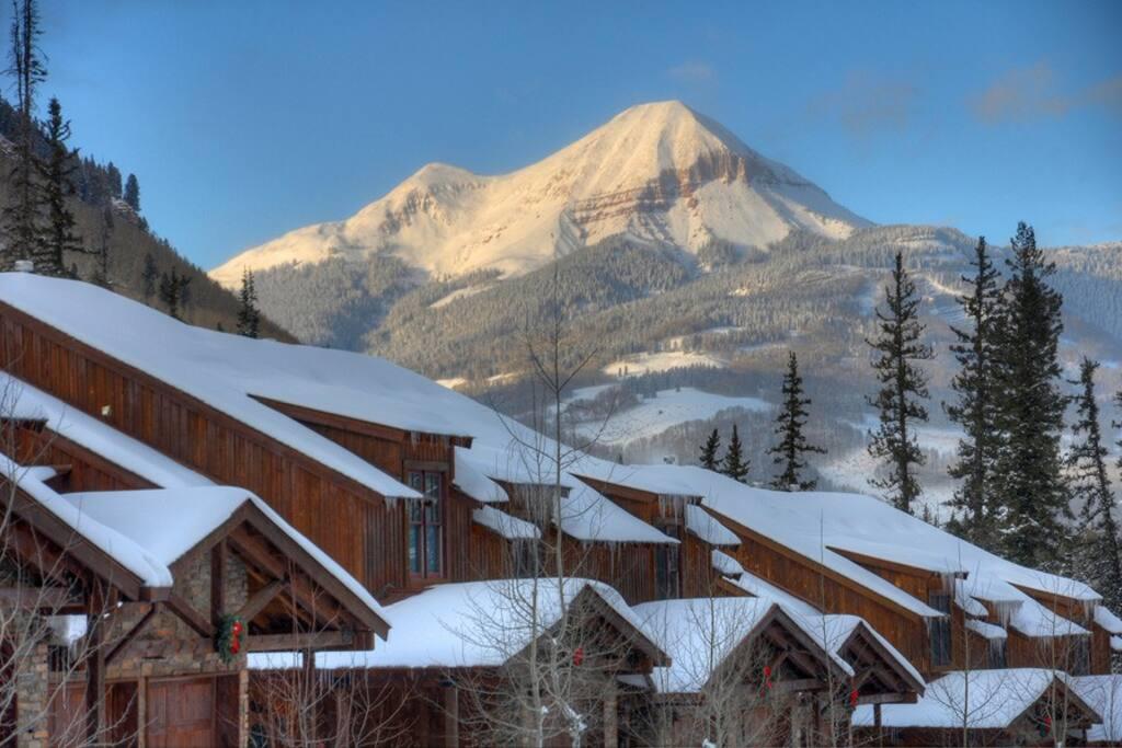 Black Bear Townhomes at Purgatory Resort vacation rental ski condo Durango Colorado