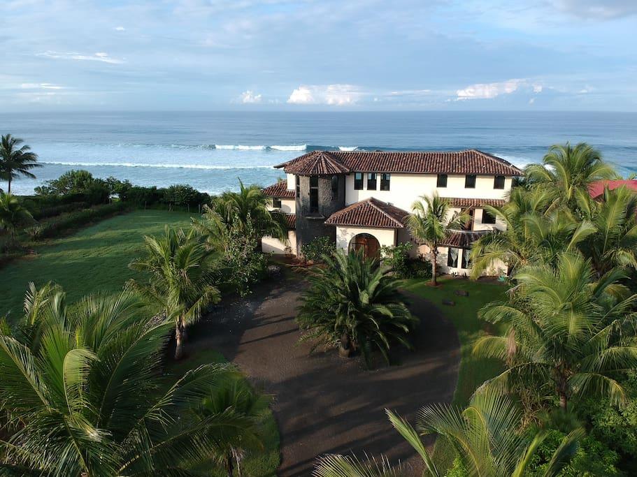 Villa Esperanza ocean front compound