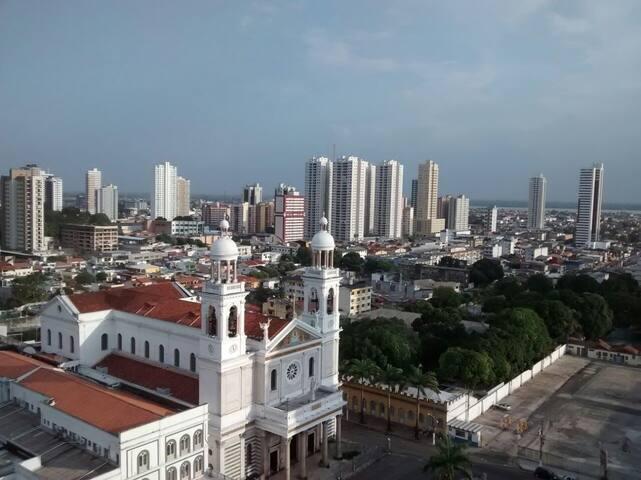 Área nobre de Belém - em frente à Basílica - Belém - Apartment