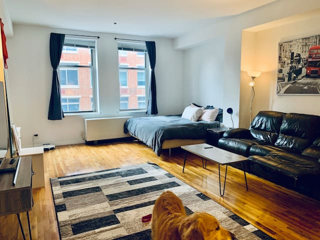 Large Studio in Meatpacking District