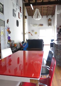 Cozy apart. with terrace,wifi and air conditioning - València - Apartment