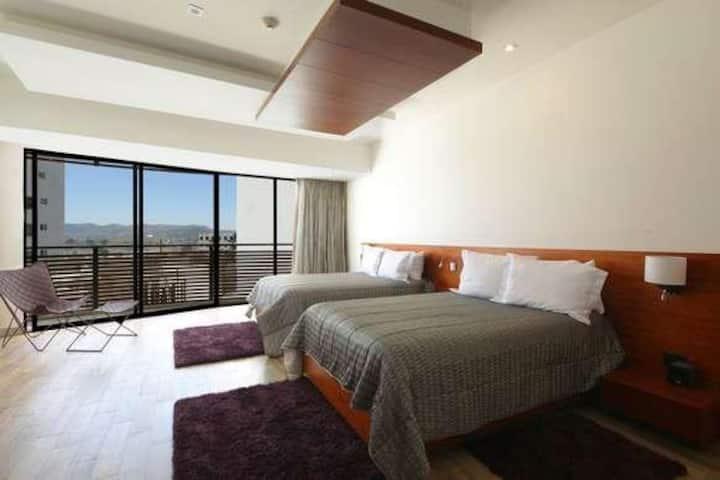 Hermosa habitación para 4 personas en Angelópolis