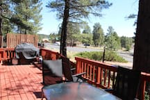 Flagstaff Chalet:  3-story Chalet in the Pines