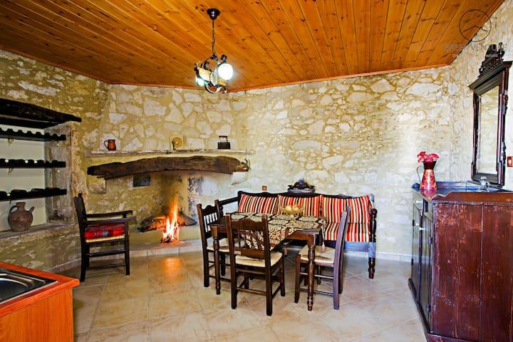 Idea: a traditional house in Eleftherna - Rethymno - Casa a schiera