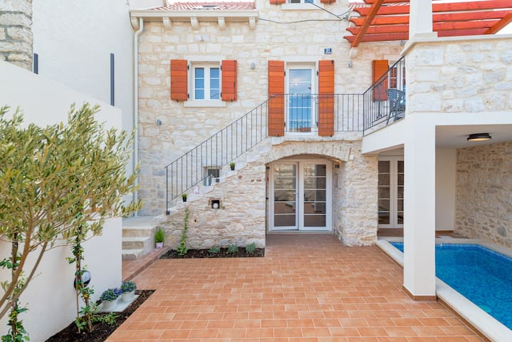 Holiday home Rocca with a heated swimming pool