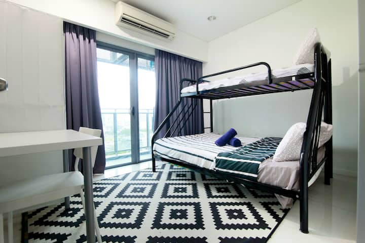 Standard Bunk Bed Room in Shared Apt @ Summer KLCC