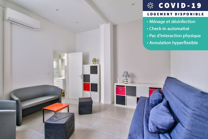 AVAILABLE AND SECURE - Studio of 28m2