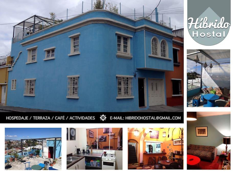 Híbrido Hostal Guatemala