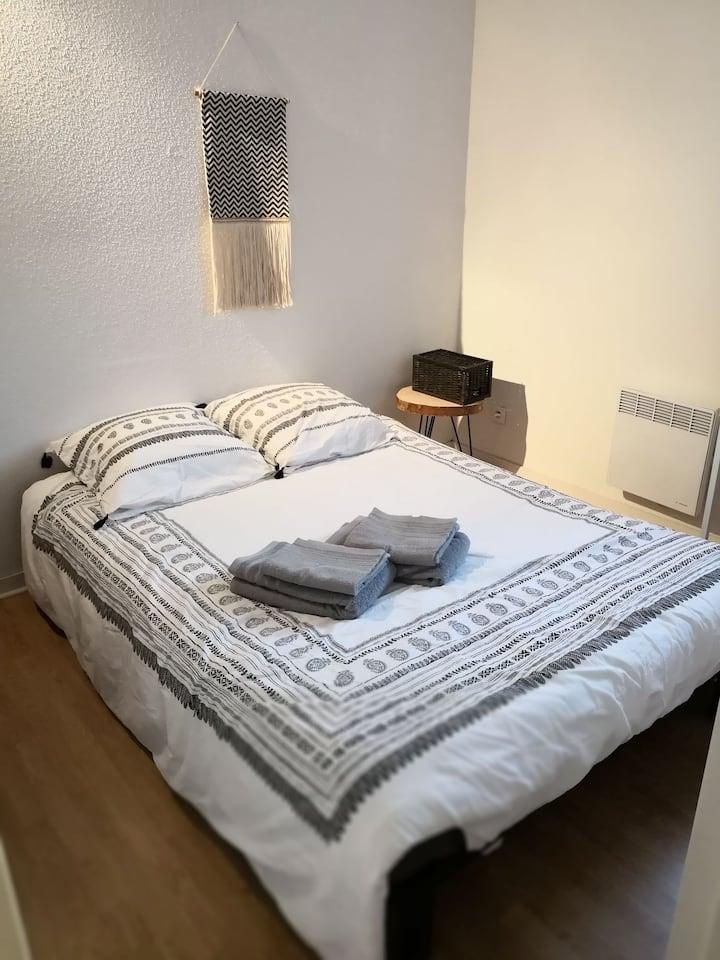 Charmante chambre Bohême  ! Lovely room for 2 !