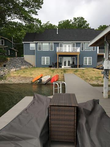 New Blue Lake House