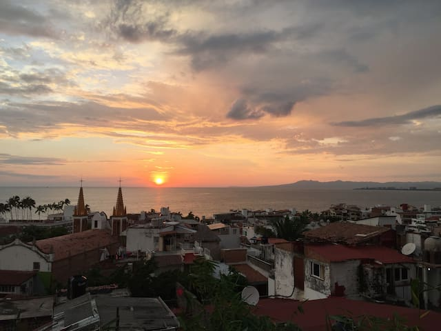 Heart of Vallarta with an amazing view!
