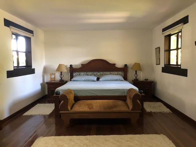 Habitación principal. 2 piso - cama King.