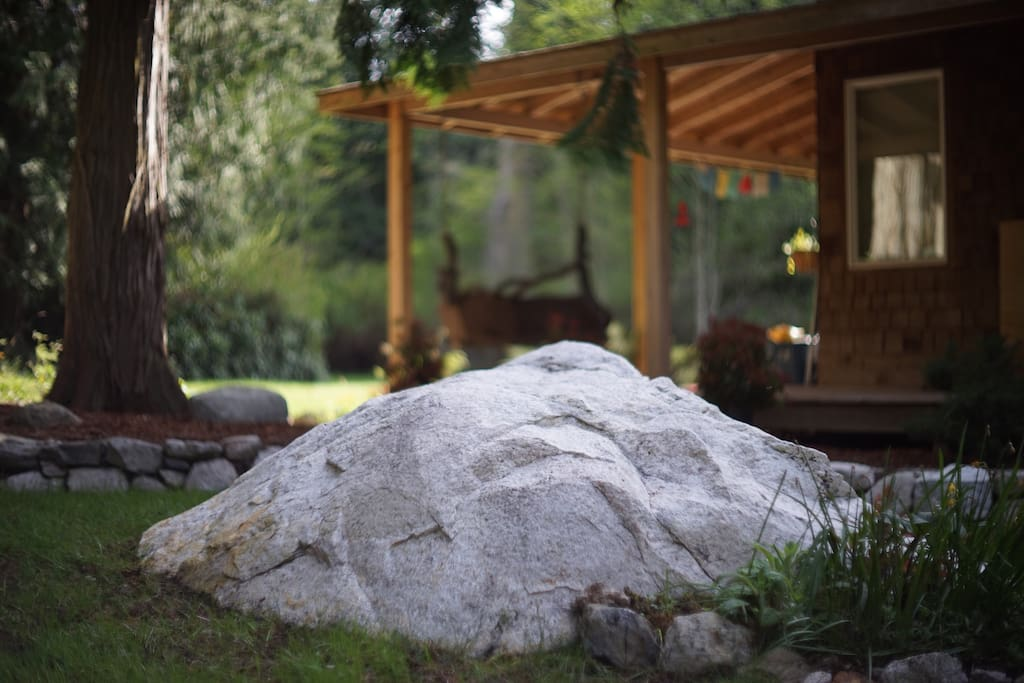 Our White Granite Stone Helps Keep Things Grounded