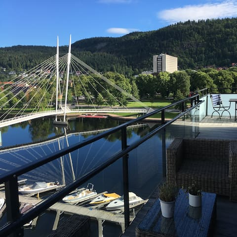 3 BEDROOMS APP. IN DRAMMEN, UNION, FANTASTIC VIEW - Drammen - Departamento