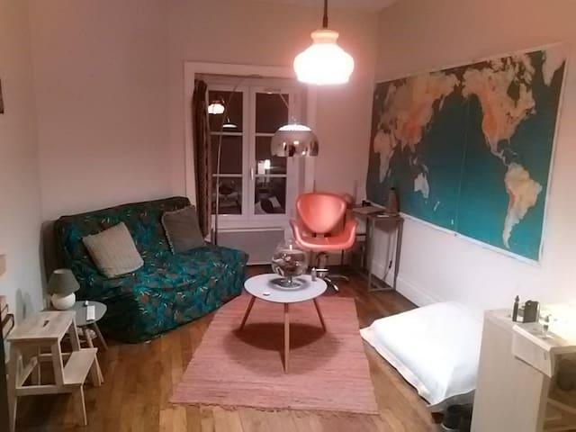 Appartement T1 proche centre de Lyon et gare