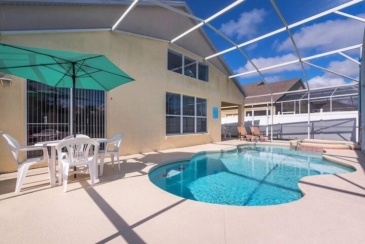 Pool + Spa + 100% Privacy