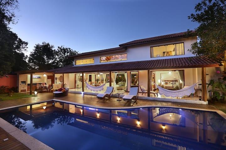 Private Villa w Pool 3min walk to Fabulous Beach