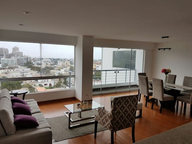 Flat ideal exec /parejas/familias - Lima - Appartement
