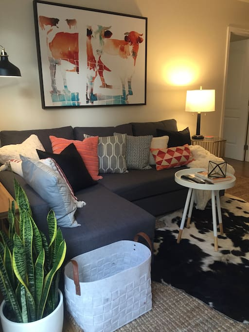 Living room & sofabed