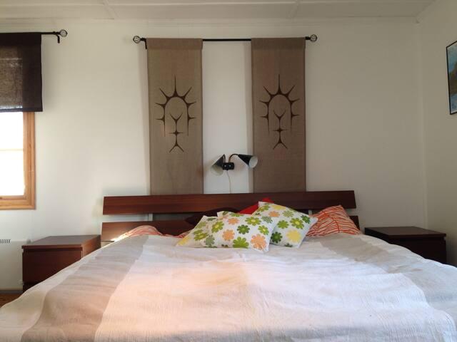 Dubbelsäng sovrum