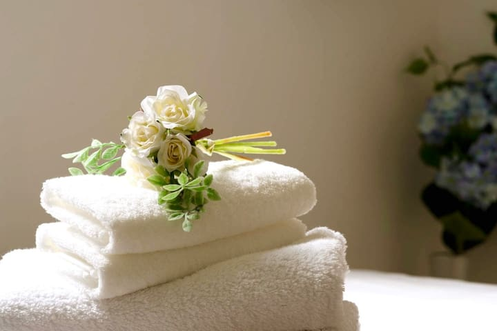 High quality towels for your use.