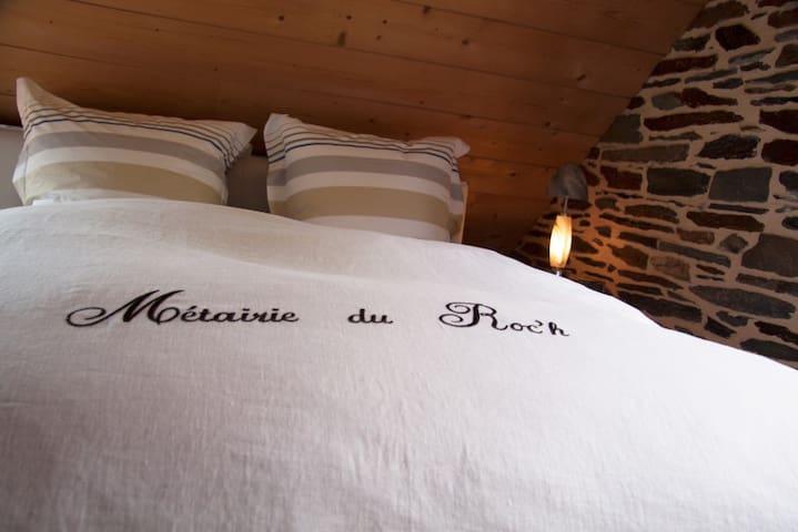 Métairie du roc'h: Côté Blavet - Lescouët-Gouarec - Casa de hóspedes