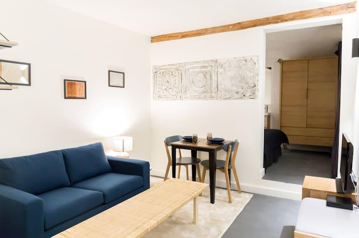 Studio proche marais et musée Beaubourg