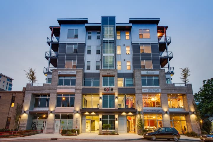 New Downtown Apartment - Kelowna - Lägenhet