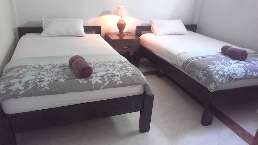 """Our single beds are """"King-size = 120 cm wide"""