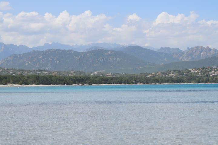 Vue du golfe de Pinarellu