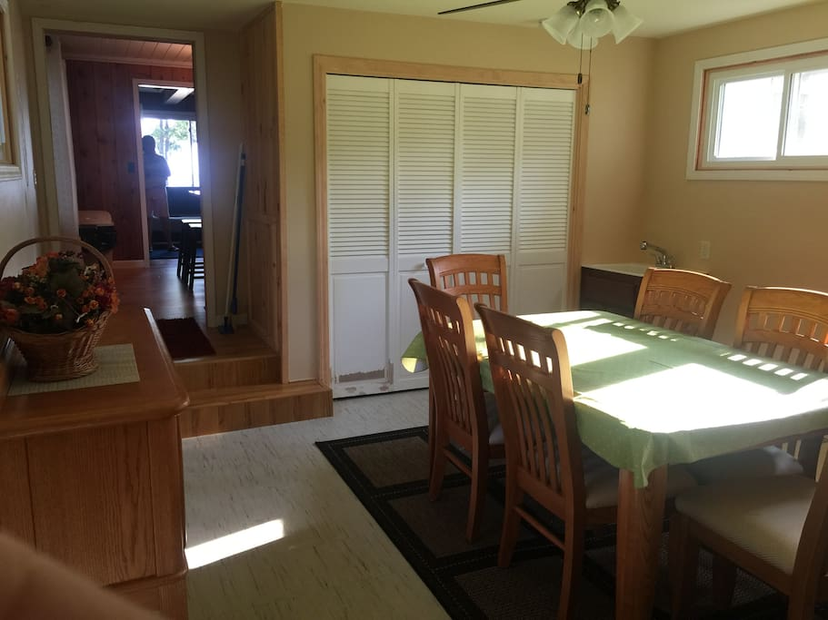 Laundry/Dining Room