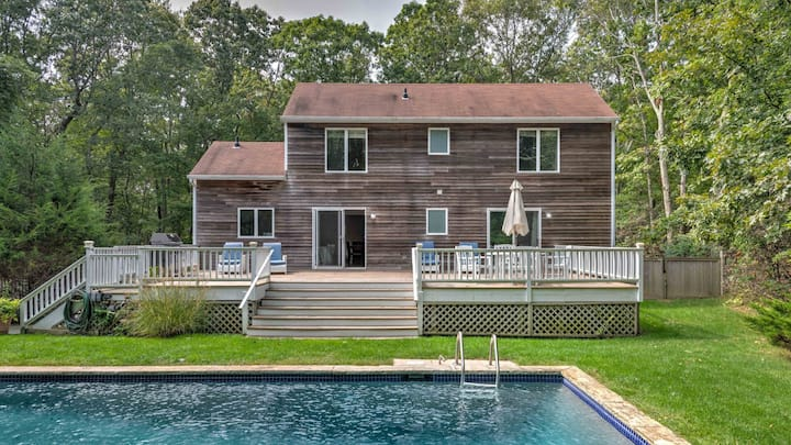 New Listing: Head out East to this wooded oasis!