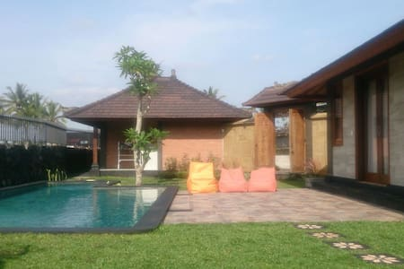 Landus - AC, Wifi, Priv-Pool, Yoga, Maid, Security - Kabupaten Gianyar