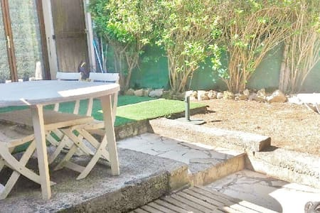 Cottage 5 personnes - Piscine - Tennis - Volley - Saint-Cézaire-sur-Siagne - Huis