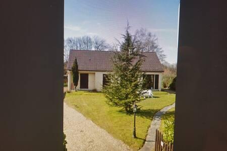 belle maison de campagne avec cheminée