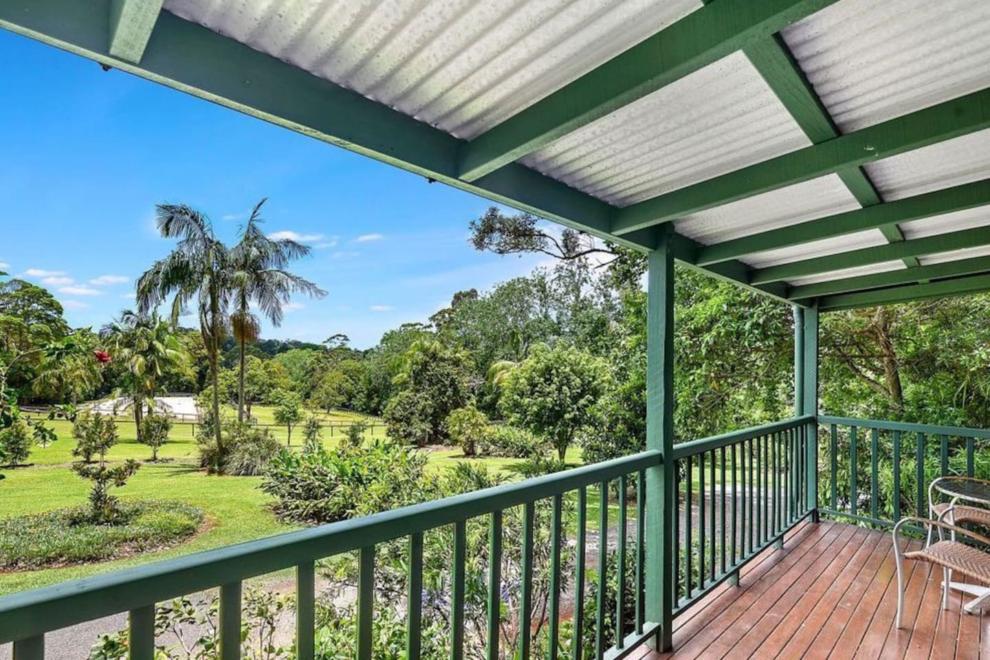 View from Lorikeet Luxury Cottage
