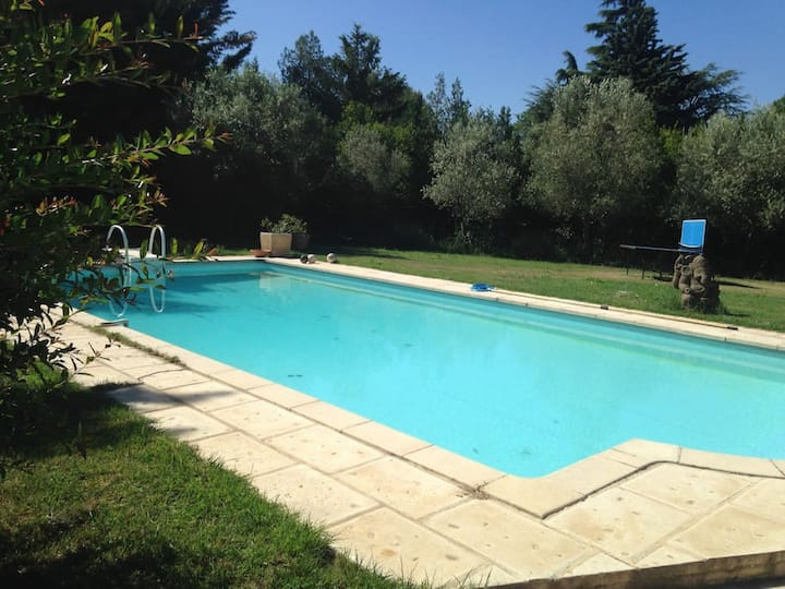 10pers Villa with swimming pool in Aix en Provence