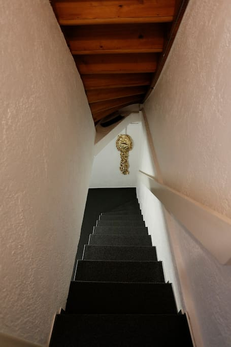 Your way downstairs