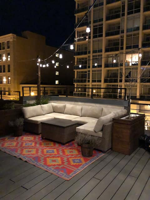 Experience Chicago from a Penthouse Condo